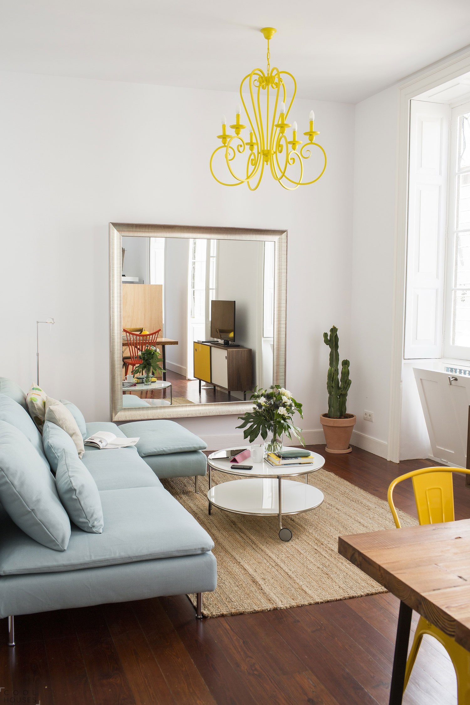 Дизайн квартиры в стиле лофт, Испания