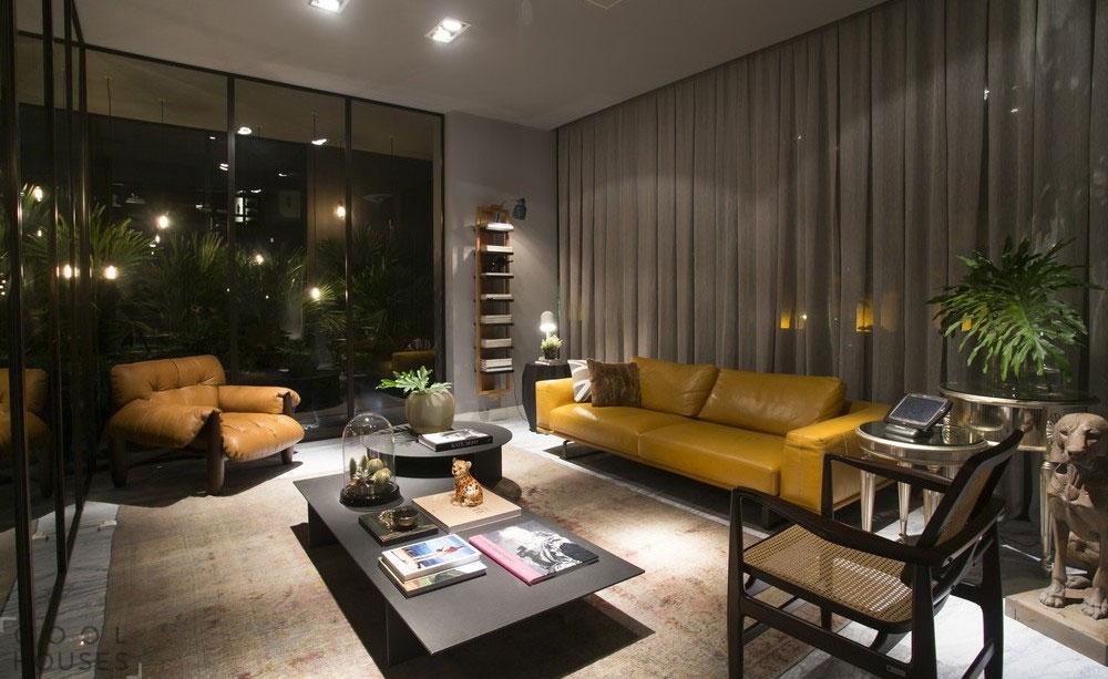 Роскошные лофт апартаменты от студии CASAdesign Interiores