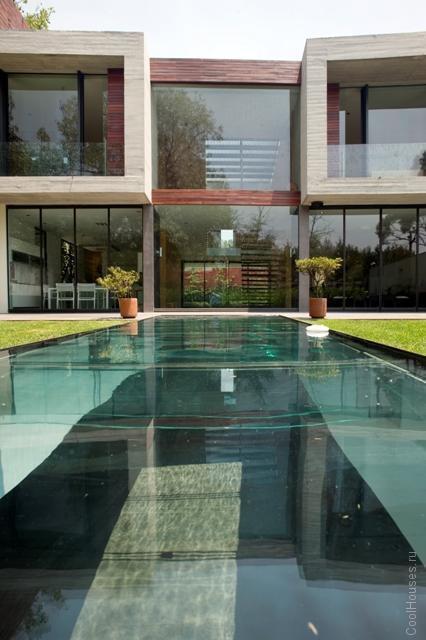Вилла с бассейном в Мехико-Сити