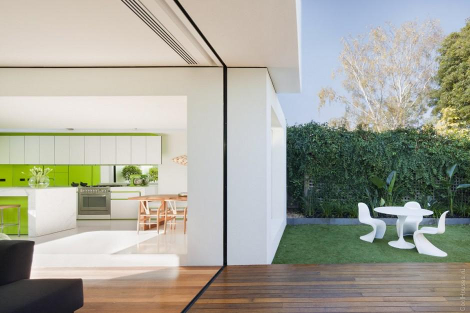 Красивый дом в Австралии от Matt Gibson Architecture