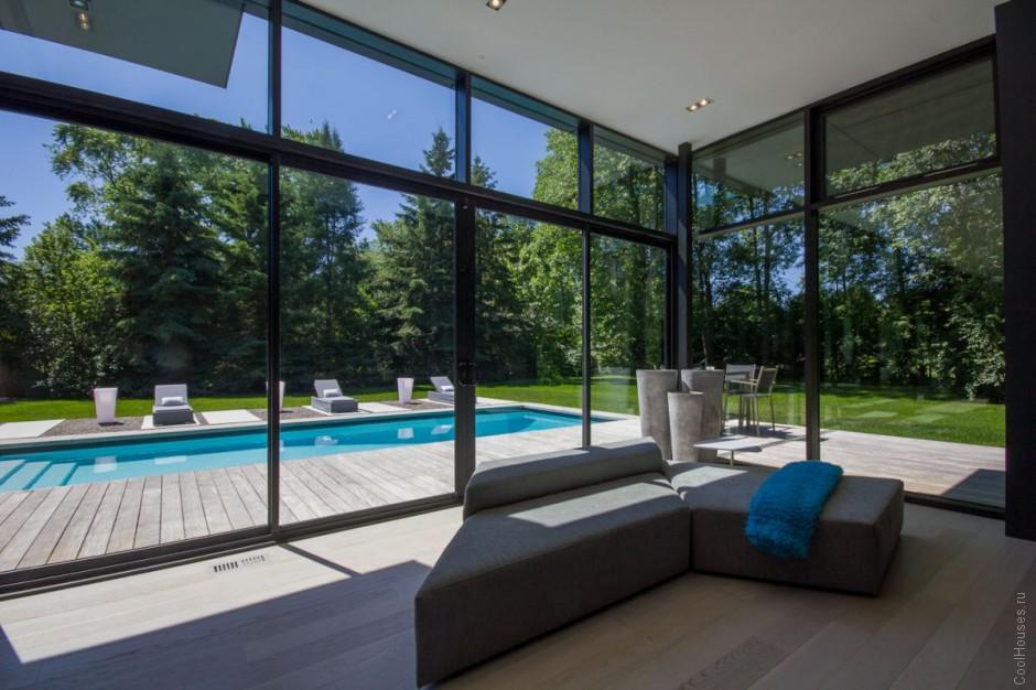 Шикарная резиденция в Канаде от студии Guido Costantino