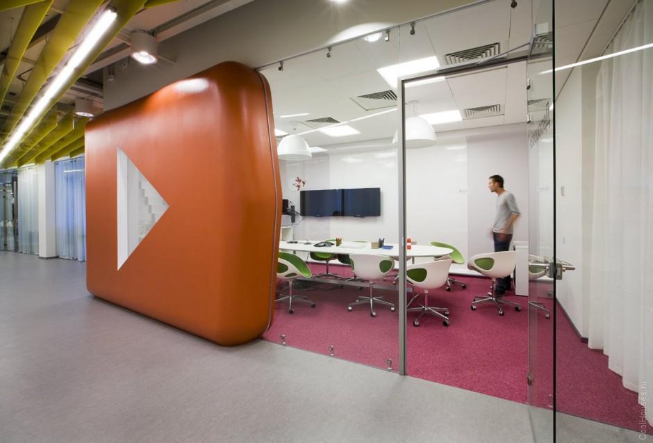 Новый офис Яндекса в Санкт-Петербурге