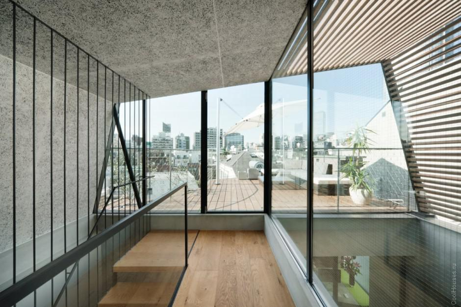 Полная реконструкция дома в Токио