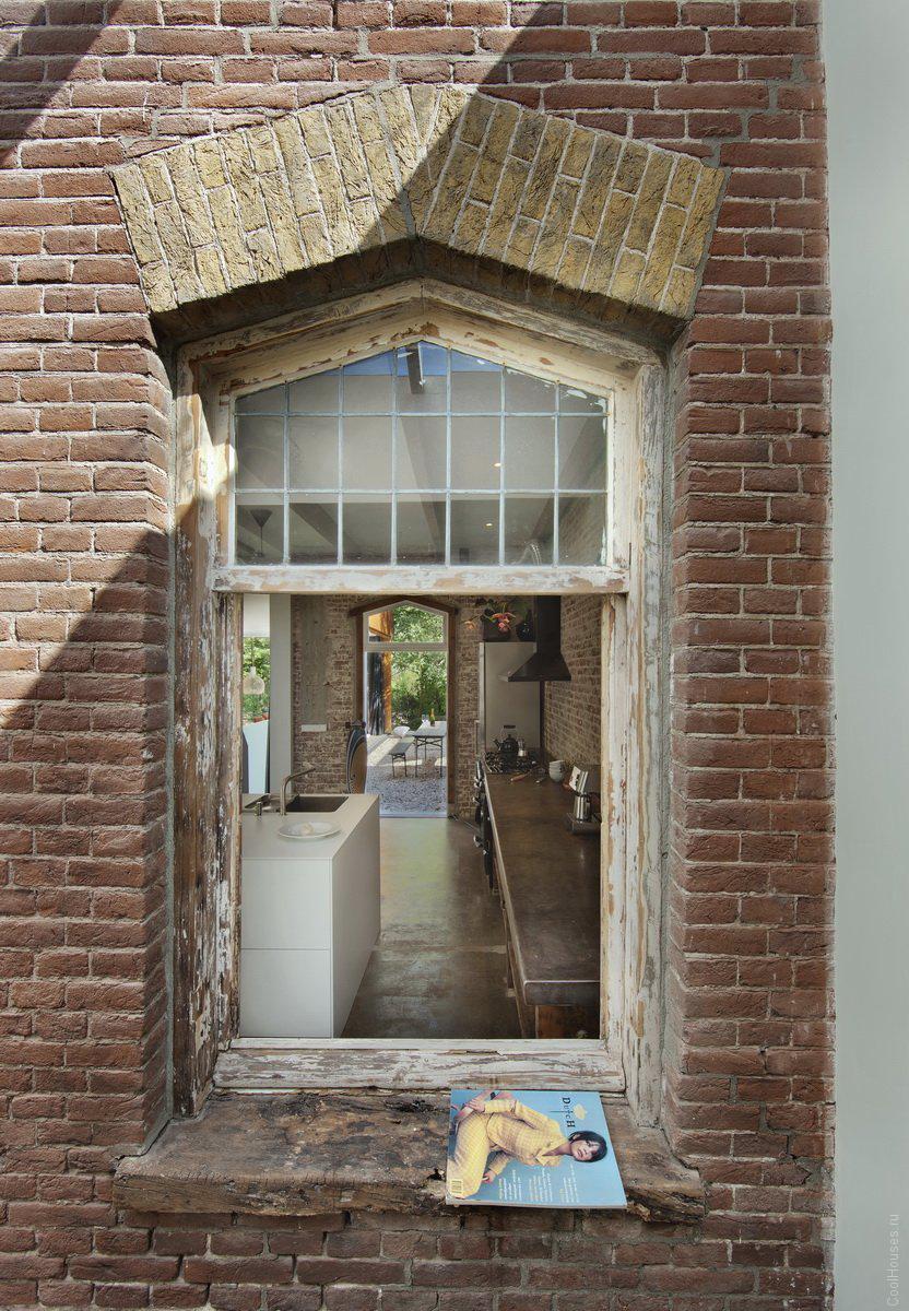 Редизайн старого коттеджа в Нидерландах