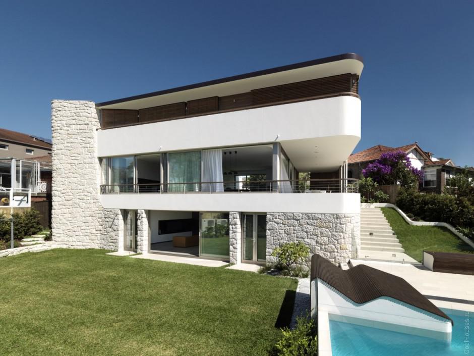 Дом в Сиднее с видом на пляж