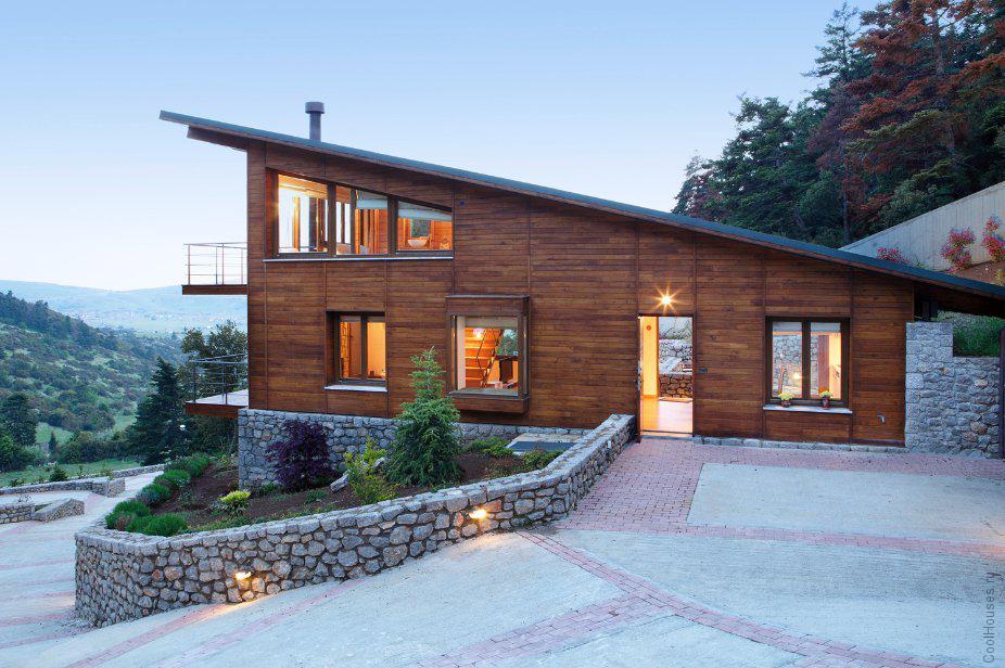 Горные дома в Греции
