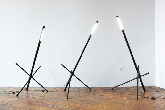 Креативная лампа дневного света