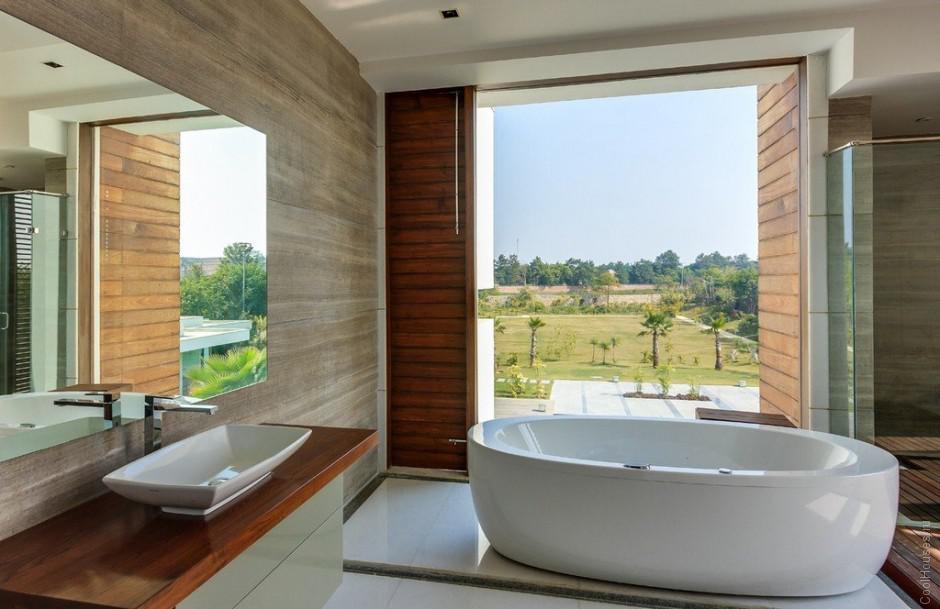 Огромная вилла в Индии от студии DADA Partners