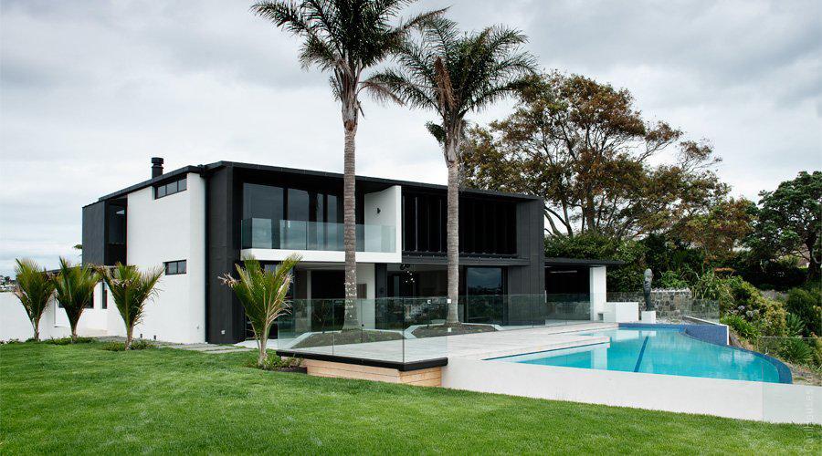 Сложный проект дома в Новой Зеландии