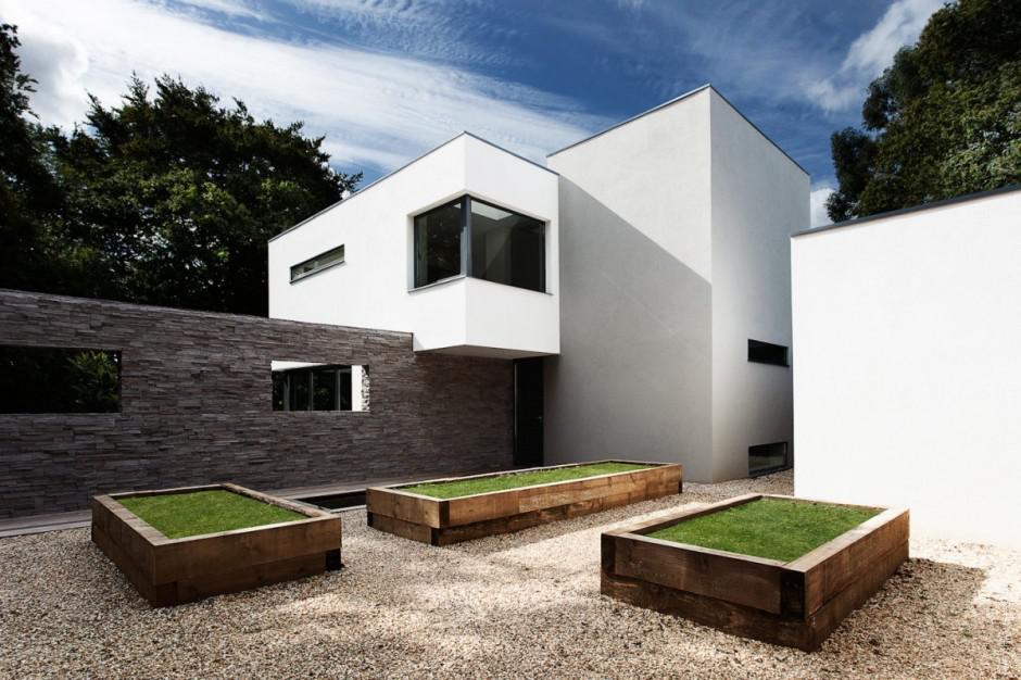 Современный дом в Англии