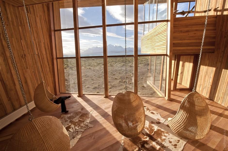 Уютный отель Tierra Patagonia в Чили
