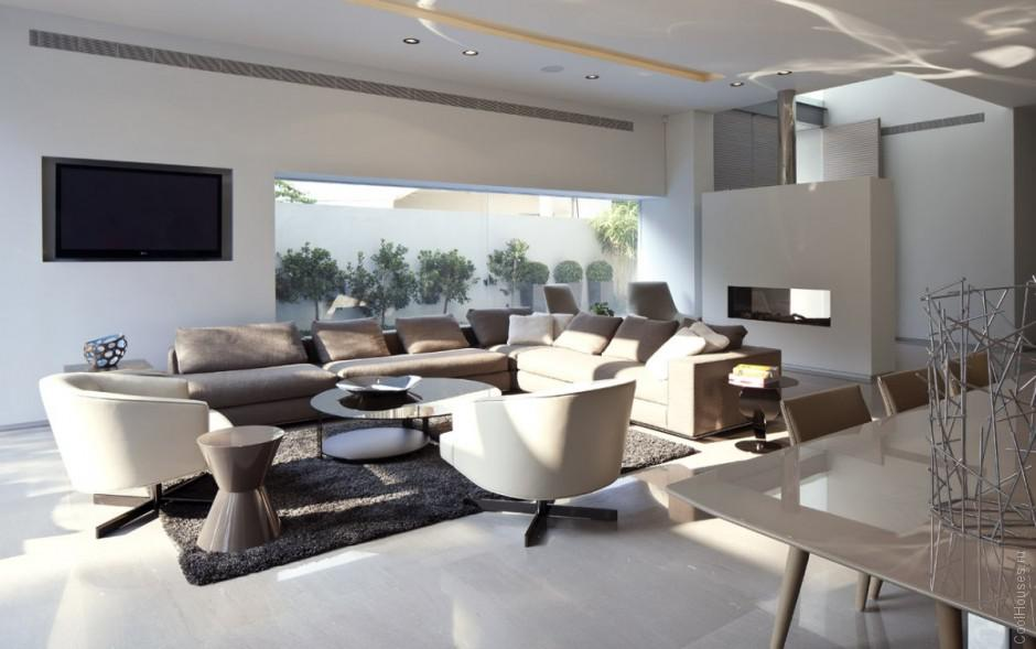Внутренний дизайн дома в Израиле