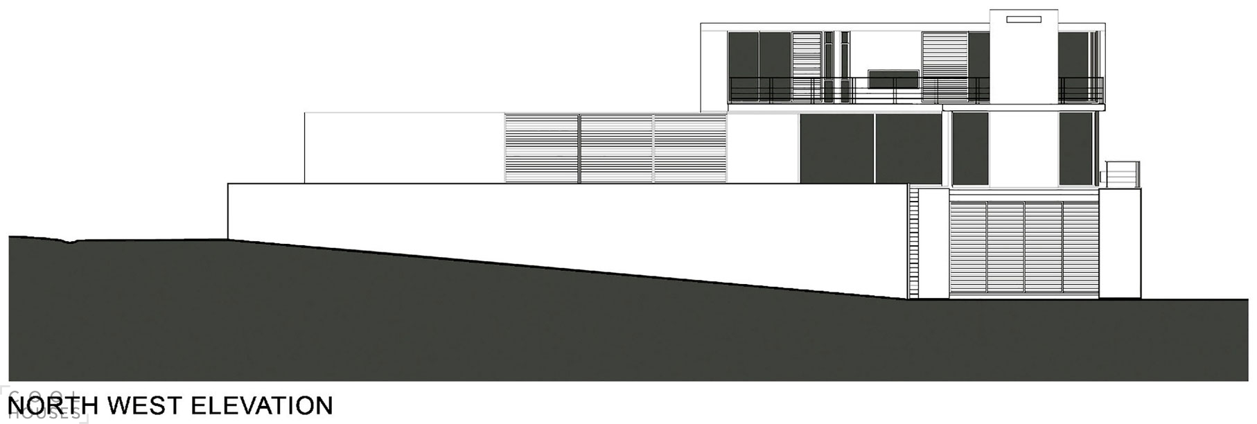 Белая вилла в стиле Хай-Тек от студии SAOTA