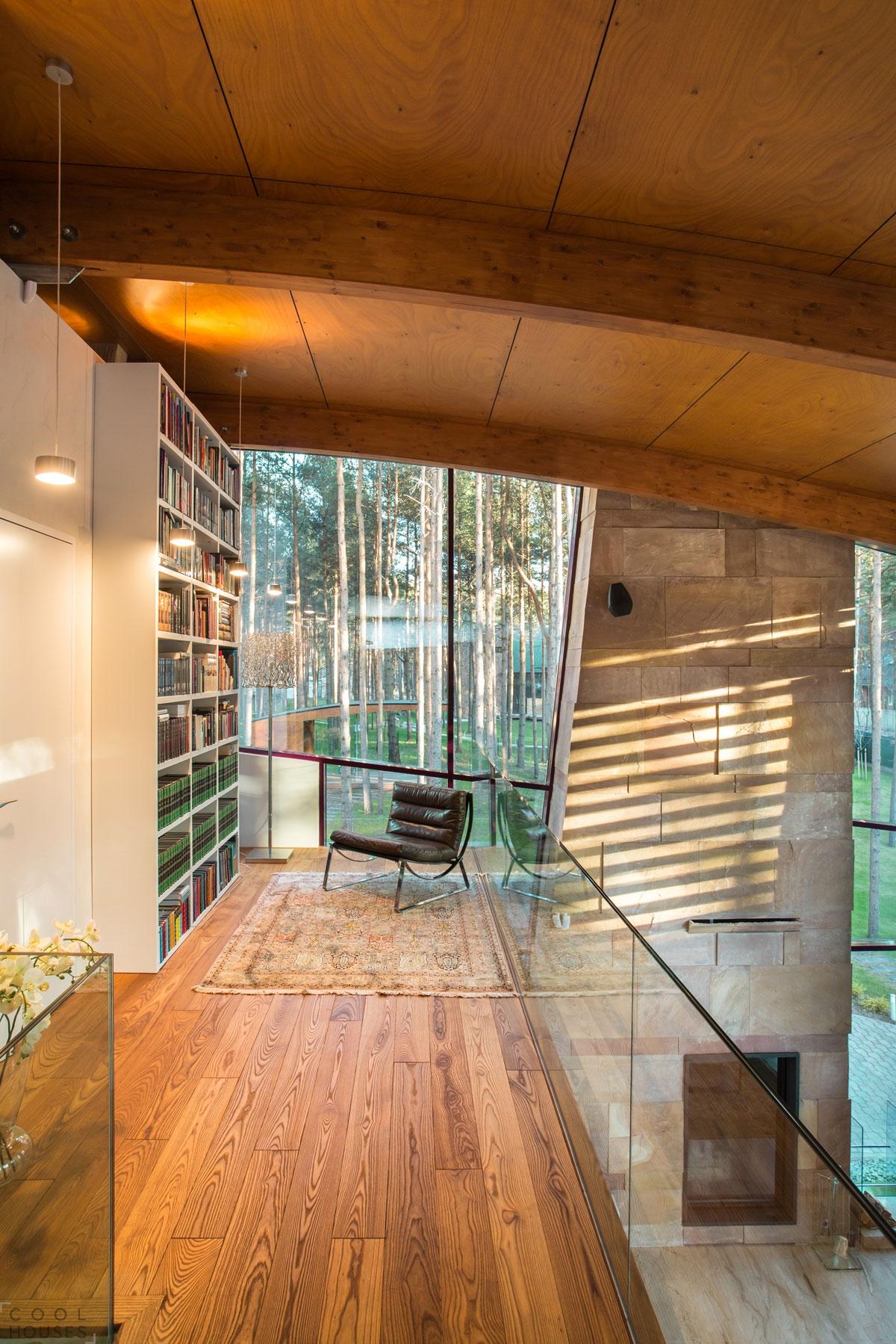 Дизайн двухэтажного дома от студии Arch-D
