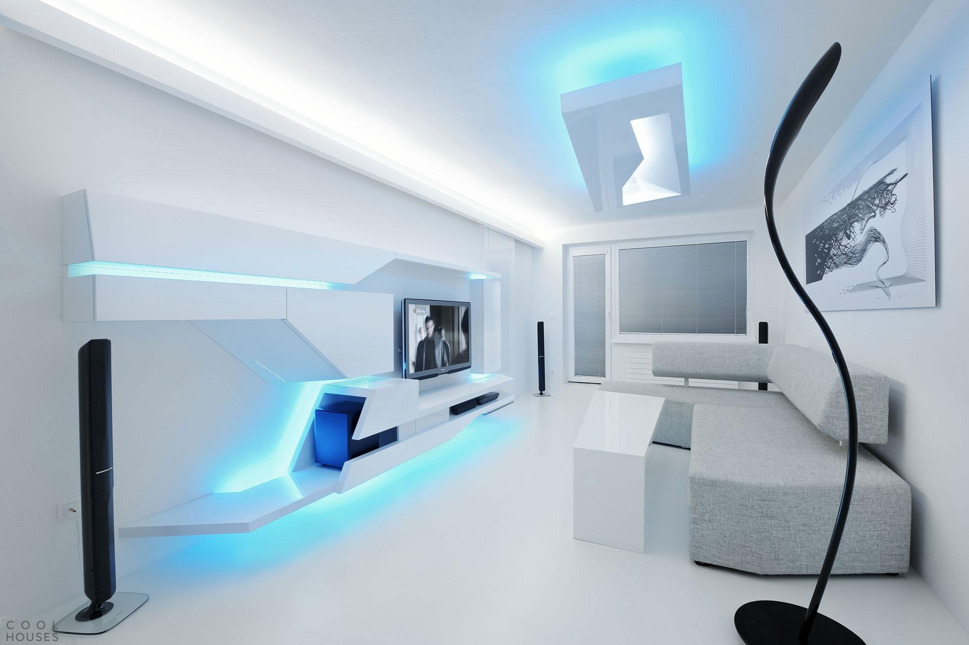 Дизайн-проект трехкомнатной квартиры от студии Next Level