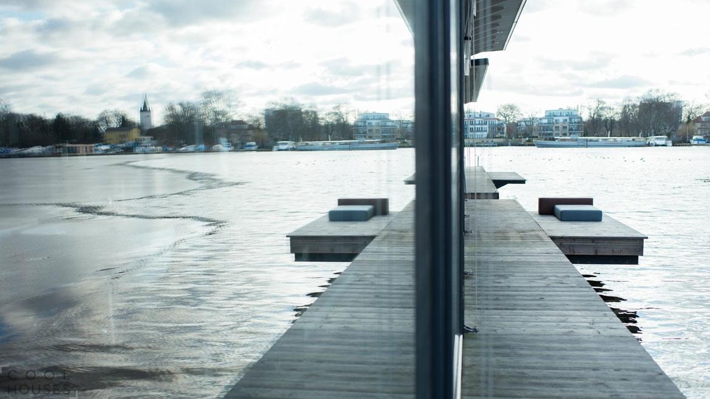Плавучий отель в центре Берлина
