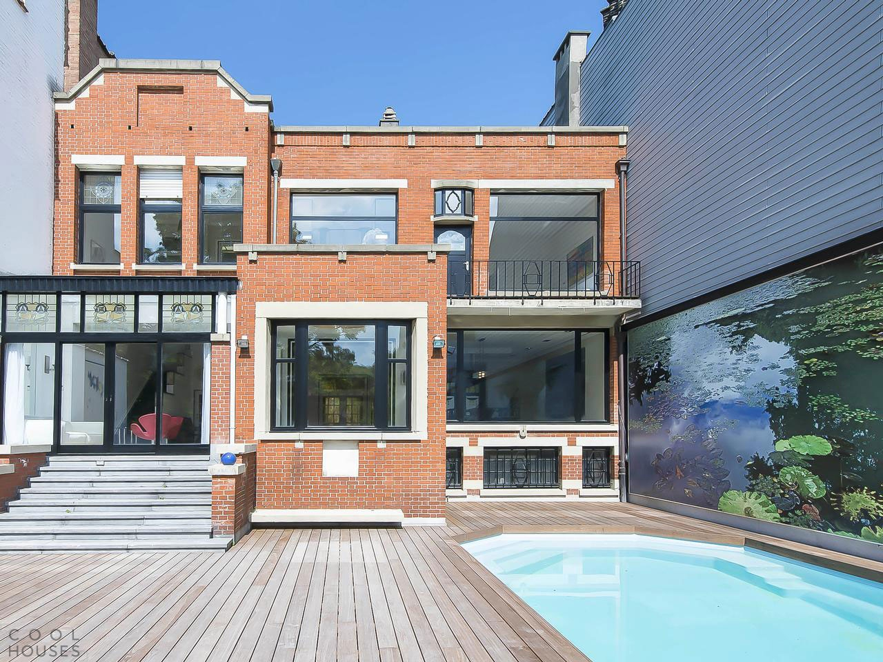 Роскошный дом в стиле Арт-Деко, Брюссель