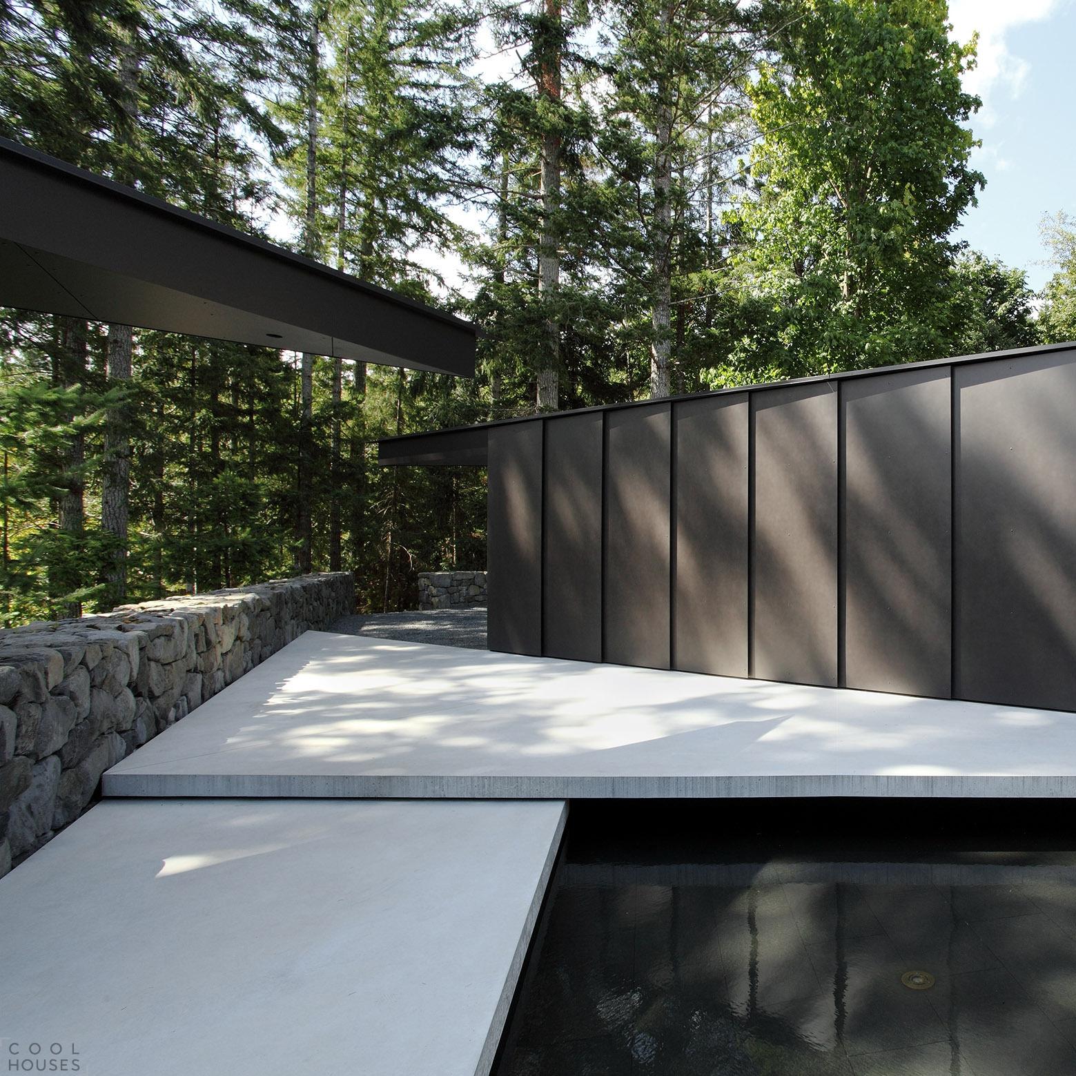 Современный дом с минималистичным дизайном