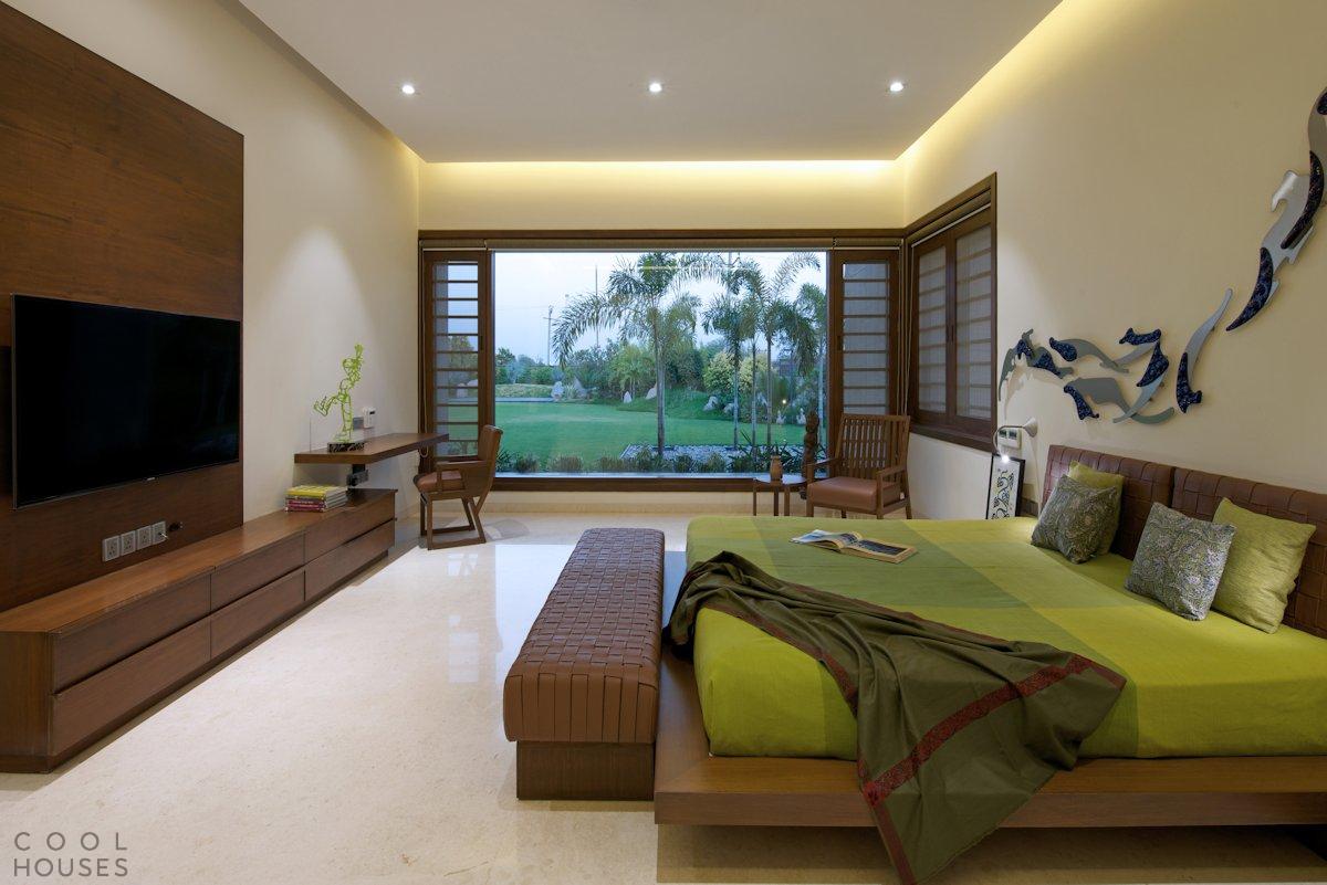 Современный дом с уютным интерьером в Индии