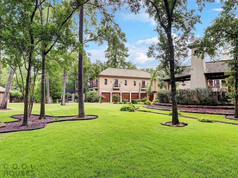 Загородный дом в классическом стиле, США