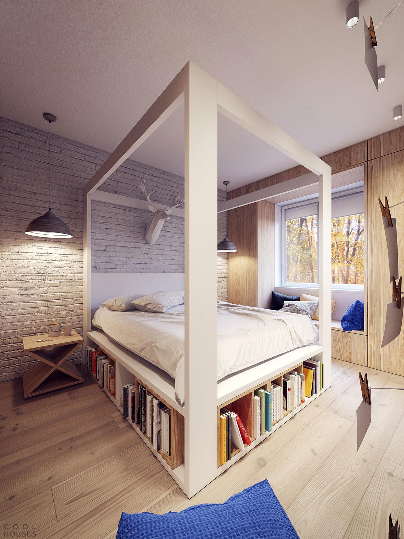 Квартира в стиле 60-х годов в Варшаве, Польша