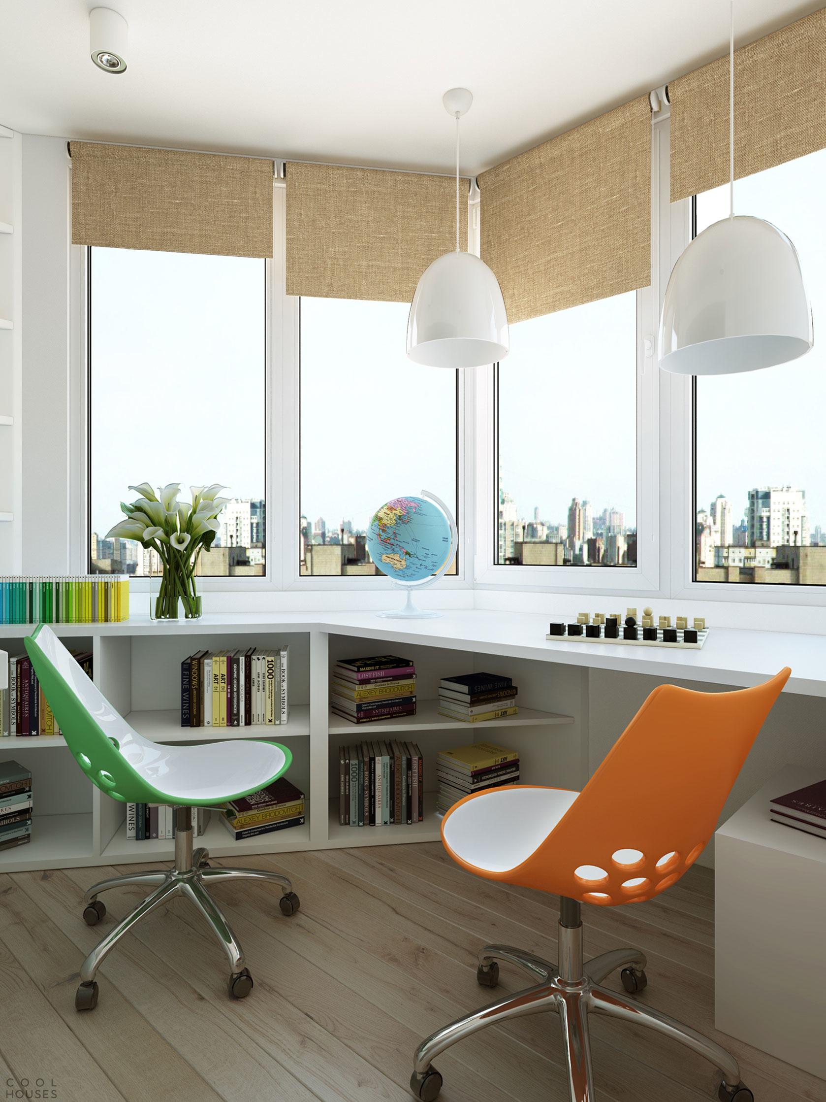 Проект квартиры в Москве от студии Geometrium