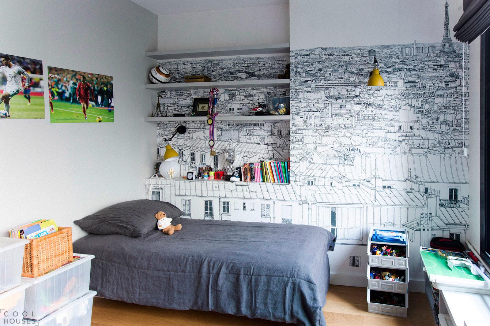 Проект квартиры Victor Hugo в Париже, Франция