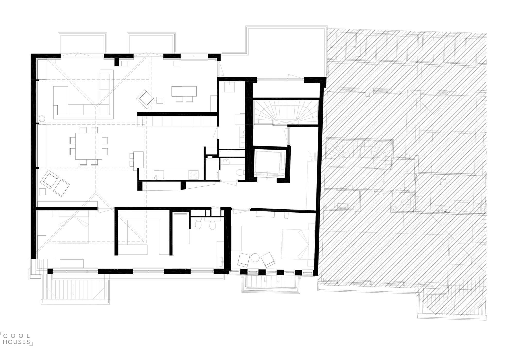 Роскошная квартира в здании бывшего музея в Роттердаме, Нидерланды