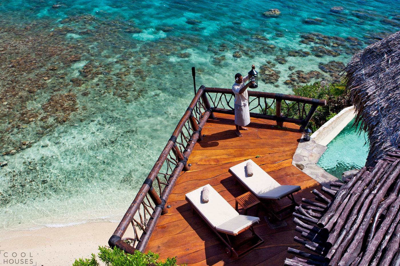 Роскошный семизвездочный отель на живописном частном острове Laucala Island в Тихом океане