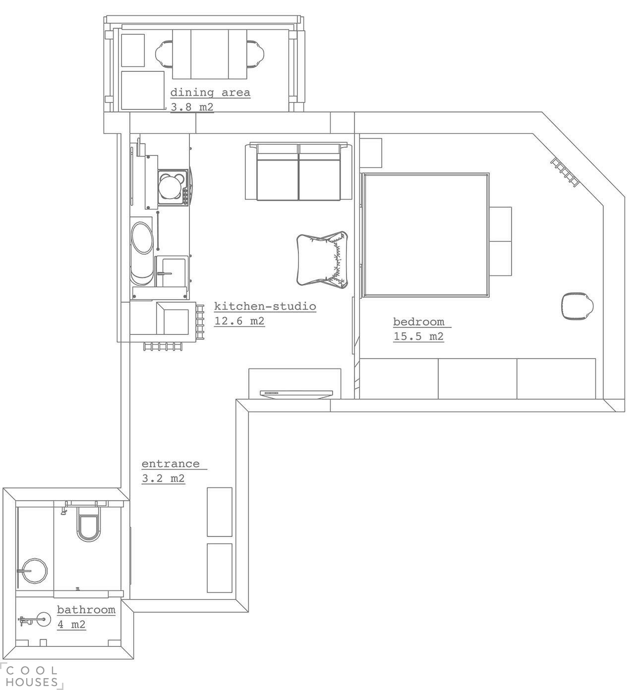 Современный интерьер квартиры в Москве
