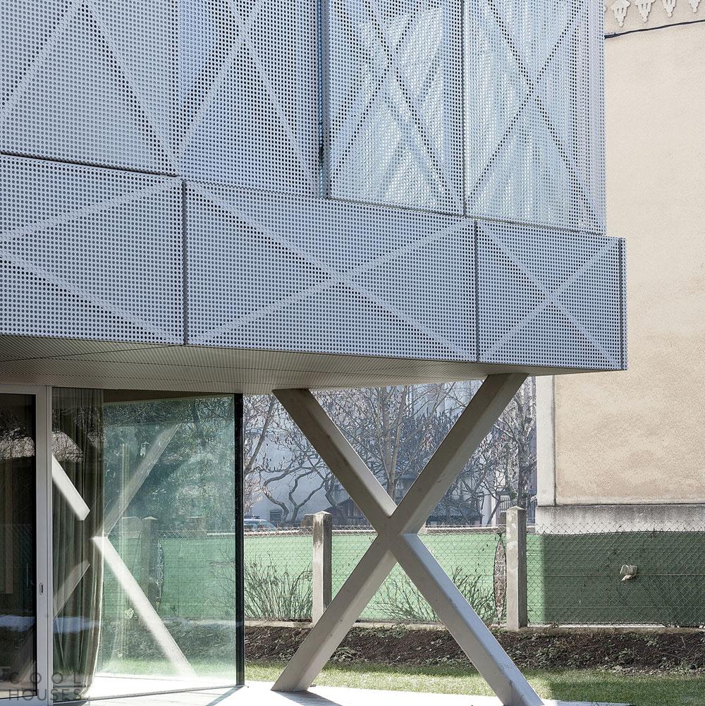 Вилла «Конверт крест-накрест» (Villa Criss-Cross Envelope) в Словении